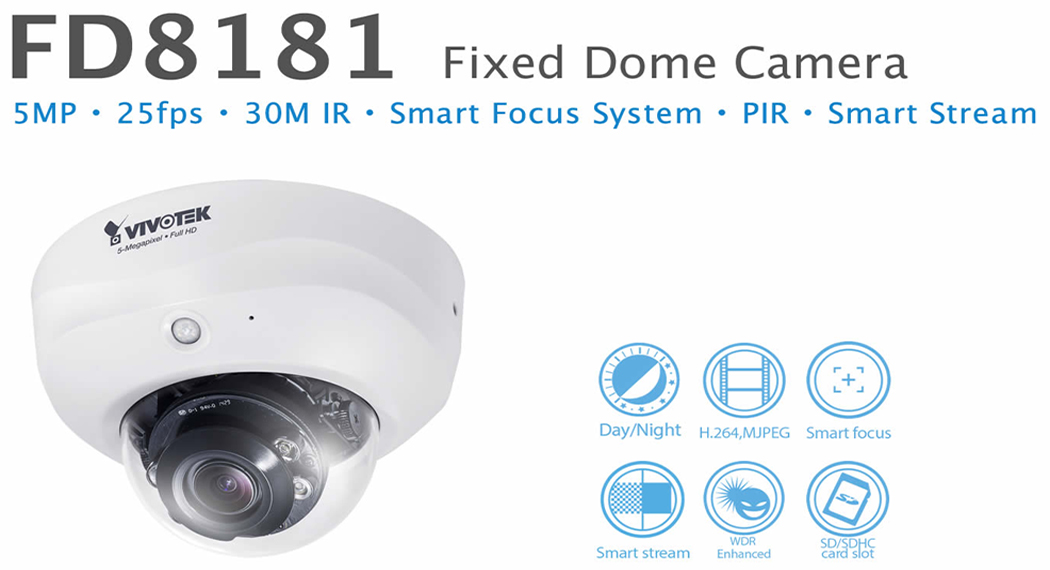 VIVOTEK FD8181 Network Camera Driver for PC
