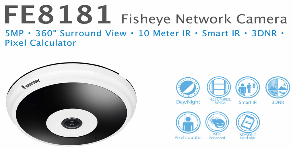 VIVOTEK FE8181 IP Camera Drivers for Windows